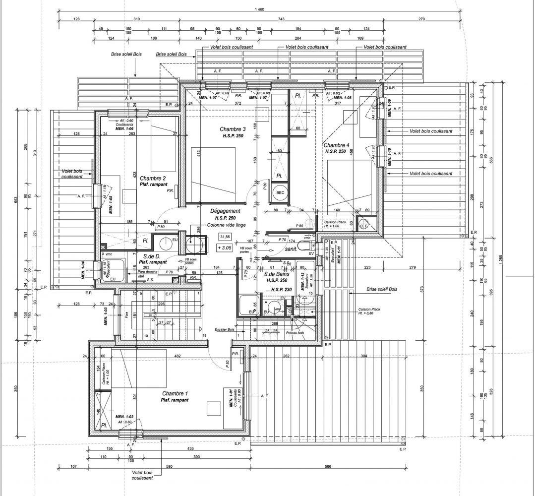 Maison 1 Etage Moderne Ventana Blog: Plan Maison Ossature Bois Etage